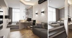 Small Apartment Design Idea – Separate The Bedroom By Elevating It