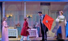Mary Poppins (Disney's and Cameron Mackintosh's) Musical Theatre Shows, Music Theater, Kids Theatre, Broadway Shows, Mary Poppins Musical, Mary Poppins Costume, James And Giant Peach, Jane And Michael, Little Shop Of Horrors