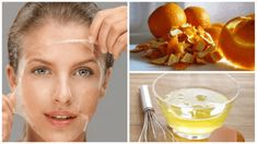 Treatments made with natural ingredients have become the most favorite options for skin care and skin renewal. Try the egg whites and orange peel. Orange Peel Skin, Peau D'orange, Hygiene, Egg Whites, Natural Health, Health And Beauty, Hair Beauty, Skin Care, Healthy