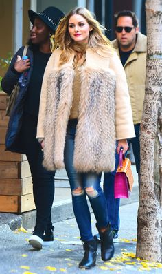 Olivia Palermo is the queen of skinny jean outfits.