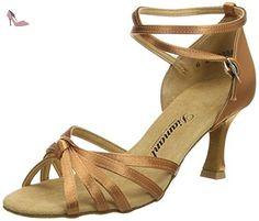 Diamant Damen Latein Tanzschuhe 020-077-040 Chaussures de Danse de Salon Femme