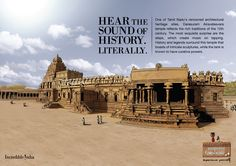 Architectural Encyclopedia and spiritual solace in Tamil Nadu 12th Century, Thing 1 Thing 2, Heritage Site, Tourism, Cool Designs, Spirituality, Advertising, The Incredibles, History
