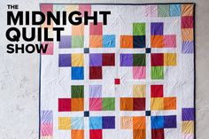 Follow along with Angela Walters as she creates a Town Square quilt using Boundless Crayon Box solid fabric. The perfect quilt project for beginners and even kids!