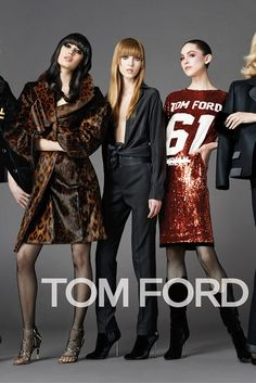 A visual from the Tom Ford autumn/winter ad campaign, shot by Johnny Dufort. [Photo by Johnny Dufort]