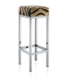 Bar stool / contemporary / leather / steel - EVENT - Hans Hansen