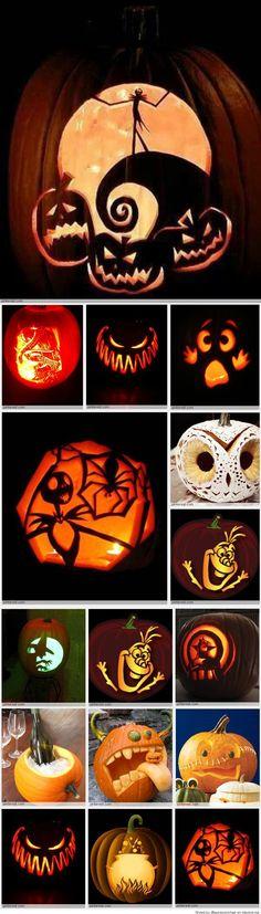 Pumpkin Carving Patterns Amazing Pumpkin Carving, Pumpkin Carving Patterns, Pumpkin Carvings, Carved Pumpkins, Holidays Halloween, Halloween Crafts, Halloween Party, Halloween Stuff, Halloween Ideas