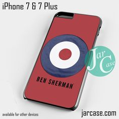 ben sherman target Phone case for iPhone 7 and 7 Plus