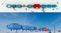 Halley VI - Les Britanniques ont inauguré la toute nouvelle station de recherche scientifique baptisée Halley VI dans l'Antarctique. En rappel, la précédente station a été démolie car la glace sur laquelle elle était posée menaçait de s'effondrer. Cette nouvelle station devrait durer plus longtemps que les précédentes, car celle-ci a la faculté de glisser sur la glace en toute sécurité en cas de besoin, à l'aide de skis hydrauliques