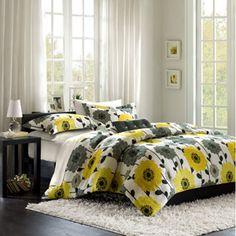 Home Essence Apartment Blythe Mini Comforter Set, Yellow