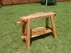 Traveling Work & Saw Bench - by JayT @ LumberJocks.com ~ woodworking community