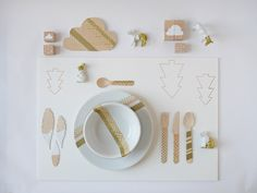 Make this Homemade Holiday Gift: 3D Placemat — HOMEMADE HOLIDAY GIFT IDEA EXCHANGE: PROJECT #11