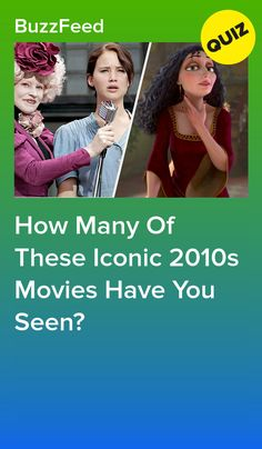 A decade in film full of sequels, superhero movies, and some of the biggest blockbusters of all time. Girly Movies, Sad Movies, Buzzfeed Personality Quiz, Personality Quizzes, Disney Movie Quiz, Disney Facts, Disney Characters, Princess Quizzes, Princess Disney