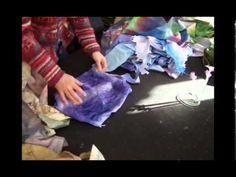 Crocuses in the Cracks textile collage - Amanda Richardson - YouTube