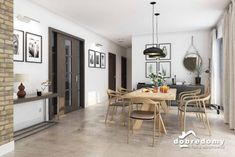Nevada - Dobre Domy Flak & Abramowicz Nevada, Table, House, Furniture, Home Decor, Prefab Homes, Interiors, Decoration Home, Home