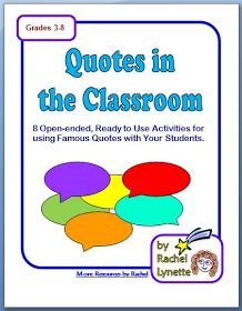 """""""Quotes"""" for Teachers: Welcome to Quotes for Teachers!"""