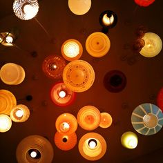 Constellation of Vintage Lamps by Theen ..., via Flickr