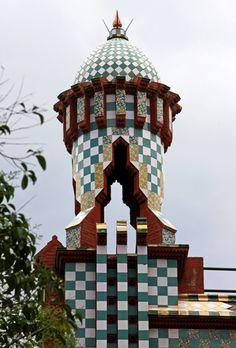 Casa Vicens. 1883 - 1885. Barcelona, Spain. Antoni Gaudi.