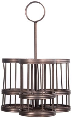 """12""""H 3-Section Utensil Caddy"""
