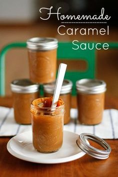 Homemade Caramel Sauce in Your Slow Cooker -- you won't believe how simple this caramel sauce recipe is, just one ingredient!!!