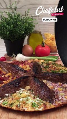 Cheesy Recipes, Mexican Food Recipes, Beef Recipes, Tasty Videos, Food Videos, Fun Baking Recipes, Cooking Recipes, Tiny Food, Le Diner