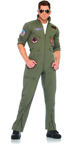Deluxe Top Gun Flight Suit Whole Costumestop