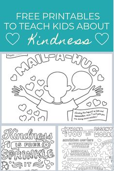 Kindness Projects, Kindness Activities, Counseling Activities, Activities For Kids, Mental Health Activities, Kids Mental Health, Social Emotional Learning, Feelings And Emotions, Gentle Parenting
