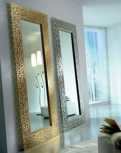 Intricate dressing mirror in Amber- Aria Forge ~ ♥