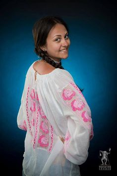 Laura is wearing the traditional blouse with bright pink roses embroided out of the finest natural silk! International Day, Bright Pink, Pink Roses, Cool Pictures, Beautiful People, Sari, Traditional, Studio, Celebrities
