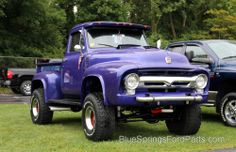 '55 ford truck 4x4| '56 grill
