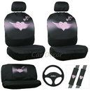 Angel Wing Heart car seat cover set with angle steering wheel cover. Girly Car Seat Covers, Seat Covers For Girls, Bucket Seat Covers, Car Seat Cover Sets, Car Covers, Automotive Seat Covers, Car For Teens, Most Comfortable Office Chair, Car Accessories For Girls