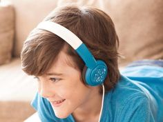 Whether they're for listening to music or audio books, using a tablet or phone or watching the telly, headphones aimed at kids are a much better option than them borrowing yours or making do with airline-supplied headphones on flights. And this isfor two main reasons. First, they are designed for small heads, so don't slip off. Second – and most importantly –adult headphones tend to be much louder than kids'.