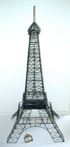 Eiffel Tower 48 Inch/4 Feet Wire Metal Centerpiece/Replica Extra Large
