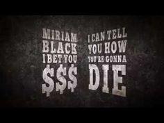 Book Trailer: The Miriam Black Novels by Chuck Wendig - YouTube