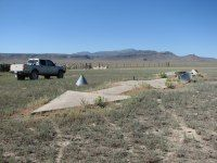 These Really Exist: Giant Concrete Arrows That Point Your Way Across America--There are even geocaches at some or all of these arrows.