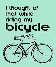 Bicycle Einstein Vintage Green #Quote. #hawaiirehab www.hawaiiislandrecovery.com
