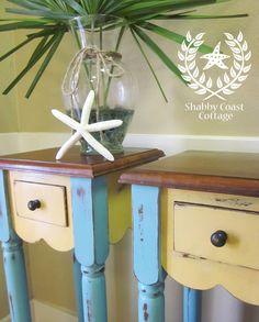 Shabby Coast Cottage...love the look!
