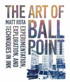 The Art of Ballpoint offers a historical perspective of the pen as an art medium and how it has grown in popularity. The book explores the work, methods, and themes of over 30 leading contemporary artists who draw in many styles ranging from intensely realistic classical drawings, to modern abstractions, graphic illustration, location sketching and street art styles, A detailed section on ballpoint techniques will discuss and demonstrate line drawing and crosshatching, shading and tone…