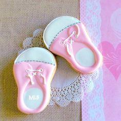 Baby Shoe Cookies