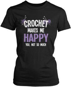 Crochet Makes Me Happy