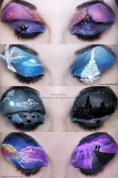 Disney makeup  How does one do this?!?!