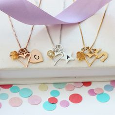 This mini sterling silver, rose gold or gold open heart pendant necklace can be personalised with letter charms and November birthstone gemstones to celebrate the life of a child. Birthstone Charms, Birthstone Necklace, Heart Locket, Heart Pendant Necklace, Gemstone Bracelets, Gemstone Necklace, Topaz Jewelry, Jewellery, Letter Charms