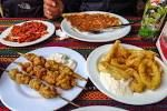 All local food dishes