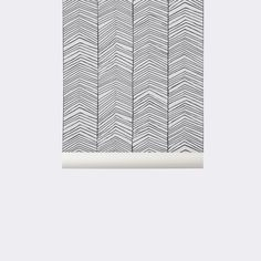 Grote muur overloop kinderen Behang Herringbone / visgraat van Ferm Living