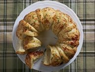 Rosemary Garlic Pull Apart Bread Recipe