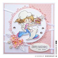 Cuddly Buddly Clear Stamps - Little Poppets Birthday CBS0013 < Craft Shop | Cuddly Buddly Crafts