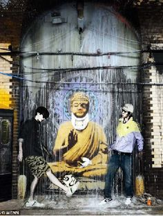 banksy wall art