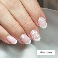 French Nails, Claire, Beauty, Nail Studio, Cosmetology, French Tips