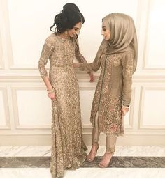Top Hijab Styles for Pakistani Outfits 2019 Pakistani Wedding Outfits, Pakistani Dresses, Indian Dresses, Pakistani Clothing, Asian Fashion, Hijab Fashion, Fashion Outfits, Hijab Dress Party, Bridesmaid Outfit