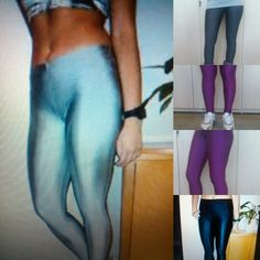 One size for all !!!! Shiny leggings!!!