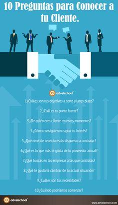 10 preguntas para conocer a tu cliente #SocialMedia #Customer